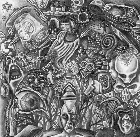 Richard Patmore 04 Apophis PencilShading Apophis CD Cover