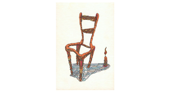 Hollow Chair Illustration
