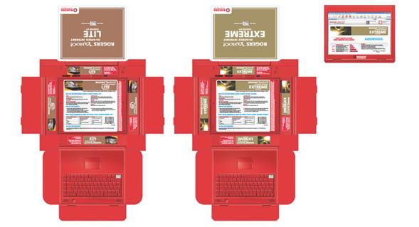 Rogers Internet Packaging