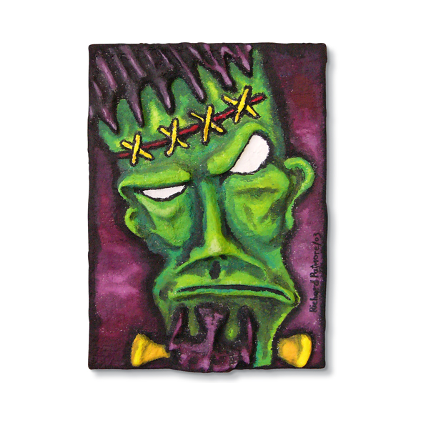 Frankenstein 3D Painting