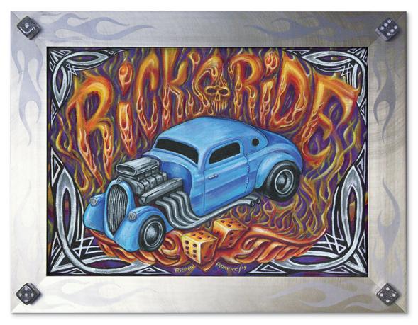 Rick's Ride Painting
