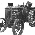 Oil Pull Tractor Illustration