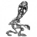 'Tip Toe' Creature Illustration