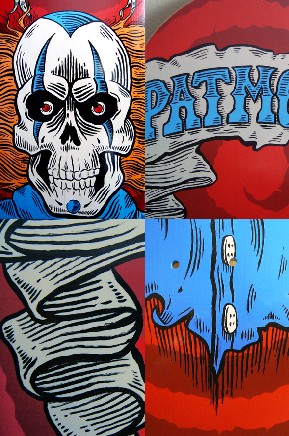 Richard Patmore Patmore Skate Detail My Pro Skateboard