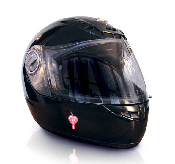 Richard Patmore Carries Helmet Front R Patmore Motorcycle Helmet
