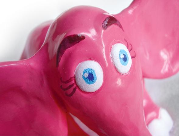 Richard Patmore Elephant 05 Richard Patmore Handmade Toy