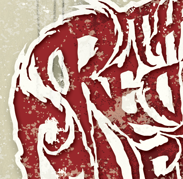 THE REDRUM CONSPIRACY' Band artwork and Logo - intwine design