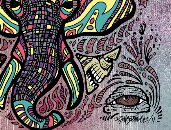 Richard Patmore LoveinaPlasticBag 02 intwinedesign RichardPatmore Love in a Plastic Bag Illustration