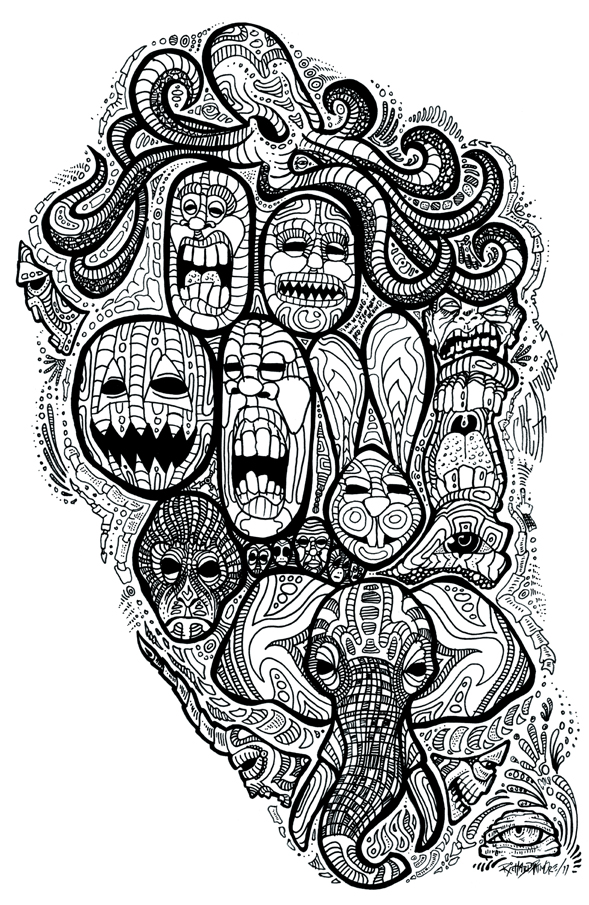 Richard Patmore LoveinaPlasticBag 04 intwinedesign RichardPatmore Love in a Plastic Bag Illustration