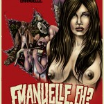 EMANUELLE, EH? Poster for 'An Alternative History of Canadian Horror' Art Show