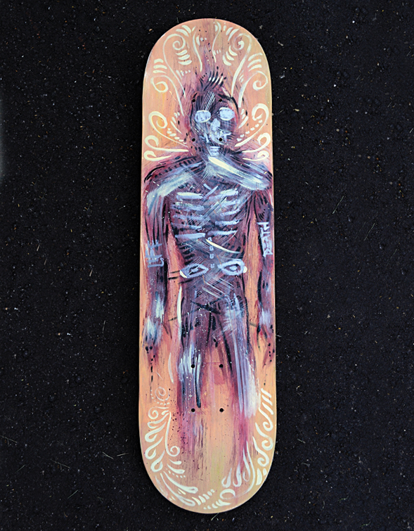 'Death Breather' Skateboard