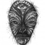 'Alien' Illustration