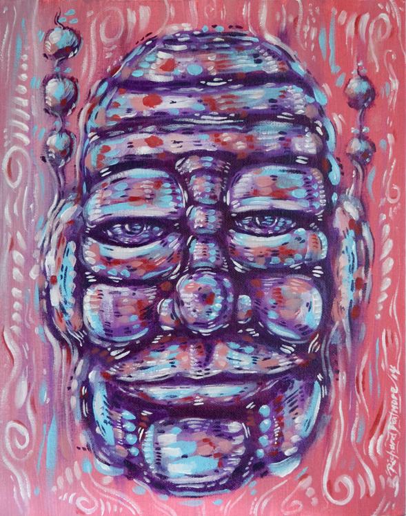 'Disintegrate' Painting